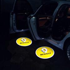 2pcs porte de voiture projecteur lumière Logo LED Peugeot Renault tous marques