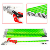 26 FOOT POLE SAW Tree Trimmer Saw Tree Pole Pruner Tree Saw Trimming Cutter US
