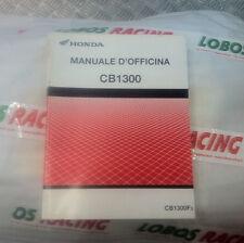 MANUALE D'OFFICINA ORIGINALE HONDA CB 1300 F 2002 WORKSHOP MANUAL 69MEJ00