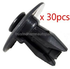30pcs Bumper Cover Lower Retainer Clips for Buick Chevy GMC Oldsmobile Pontiac