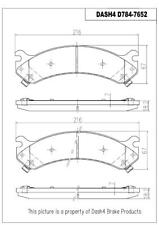 Disc Brake Pad Set-Rear Disc Front Dash 4 Brake CD784
