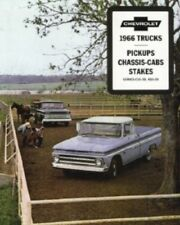 CHEVROLET 1966 Truck Sales Brochure 66 Chevy Pick Up