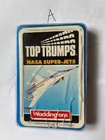 Waddingtons - NASA Super-Jets  -  Top Trumps Complete - Card Game - Vintage Set