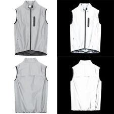 Cycling Reflective Vest Sportswear High Visibility Jacket Waterproof Rain Coat