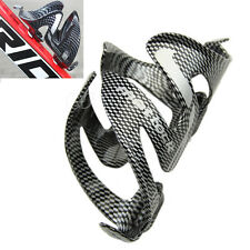 Cycling Bicycle Outdoor Carbon Fiber Water Bottle Drinks Holder Cages Rack New