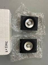EJ Jordan JX53 Aluminium Cone Full Range HIFI High Fidelity Audio NOS PAIR