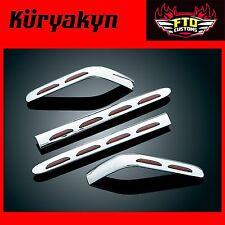 Kuryakyn Chrome Lighted Trunk & Saddlebag Molding  '01-'10 GL1800 3221