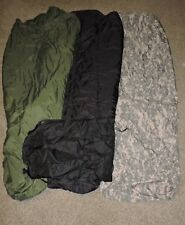 4 PIECE MODULAR SLEEP SYSTEM US ARMY SLEEPING BAG PART MSS GORETEX MILITARY ACU
