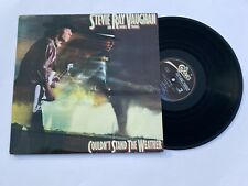 STEVIE RAY VAUGHAN and DOUBLE TROUBLE: COULDN'T STAND THE WEATHER - 1984 NM LP