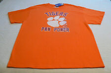 NEW Adult tee XL Clemson University Tigers Paw Power SC t-shirt 100% Cotton NWT