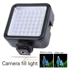 Portable 49 LED  6000K Video Camera Fill Light Panel Lamp for Camera photography