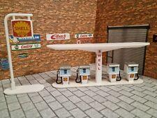 Petrol Pump Model Kit With Sign 1:43 Scale Models Cars Garage Diorama 3d Print.