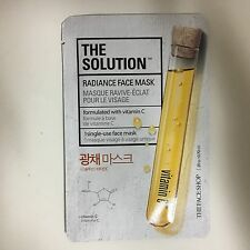 1sheet THE FACE SHOP THE SOLUTION RADIANCE FACE MASK PACK - VITAMIIN C