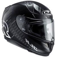 HJC RPHA 11 Epik Trip - Black / White Full Face Motorbike Motorcycle Helmet