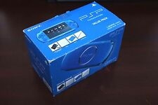 PlayStation Portable PSP-3000 Blue Console Valued boxed Japan system US Seller