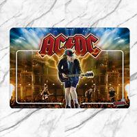 AC DC Pinball Game Rug Mat Floor Door Home Flannel Polyester carpet Antislip