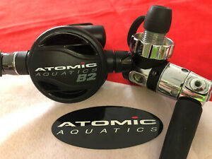ATOMIC AQUATICS B2 REGULATOR +DIN 1ST STAGE STERILIZED FOR YOUR PROTECTION !