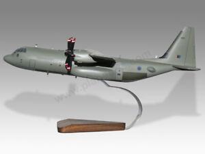 Lockheed Hercules C130J Mark 4 RAF Special Forces Wood Handmade Desktop Model