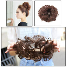 Women Girl's Curly Ponytail Holder Hairpiece Elastic Wig Scrunchie Hair Ring Bun