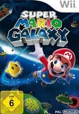Nintendo Wii +Wii U SUPER MARIO GALAXY * KOMPLETT DEUTSCH * PAL Neuwertig
