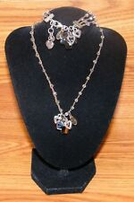 Genuine Brighton Karma Bracelet & Necklace Combination Set With Cross Charm!