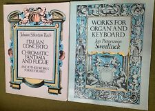 BACH & SWEELINCK - Lot 2 Keyboard Music Scores - Dover
