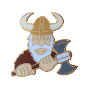 Viking Pin Badge