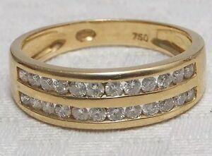 18k  Gold Diamond Eternity Ring