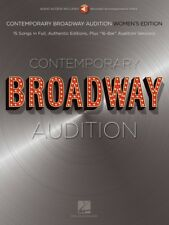 Contemporary Broadway Audition: Women's Edition Book and Online Audio 000250775