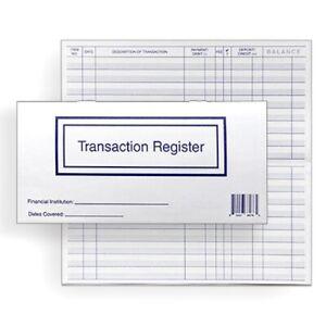10 Checkbook Transaction Registers 2021 2022 2023 Calendar Check Book Register