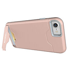For iPhone XS Max XR X 6 6S 7 8 Plus Shockproof Card Holder Kickstand Case Cover