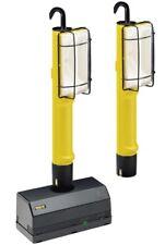 3tlg. Beghelli Piles Atelier Halogène Lampe Luminaire de Travail Poche