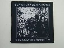 SATANIC WARMASTER STRENGHT & HONOUR SUBLIMATED PATCH