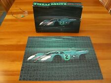 Vintage Porsche 917 - #2 Gulf - Road & Track Racing Puzzle - Rare,Complete,Nice
