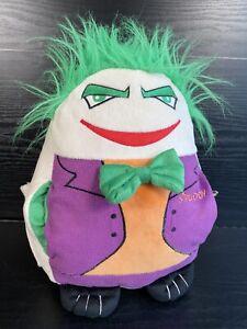 RARE SPUDDY Heroes & Villans 'The Joker' Batman Novelty Plush - Beer Holder