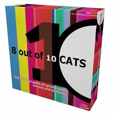 Rocket Games 8 out of 10 cats Board Game 2-6 players or teams age 12+