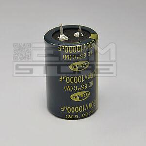Condensatore elettrolitico SNAP IN 10000 uF 50V 85° - ART. FQ06