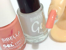 Gel Smalto Color Pesca + Top Coat Semipermanente No UV Moda Nail Art Moda Unghie
