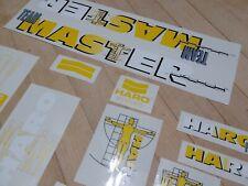 Haro master 1990 Custom yellow bmx Decal