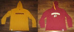 Washington Redskins Mens Reversible Hoodie Sweatshirt, Reebok, Size XL, NEW