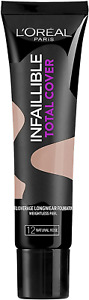 L'OREAL infallible total cover foundation 35g -NATURAL ROSE-12 (9099)
