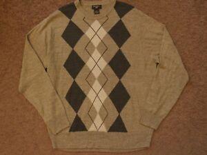 Dockers Mens Argyle Sweater Vest Size XL