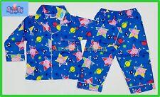 BNWT Peppa Pig George boys kids Pyjamas top shirt long pants sleepwear pajamas