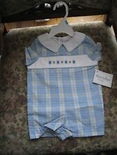 Kitestrings by Hartstrings Romper 6-9 months  Dress him up & take him out.