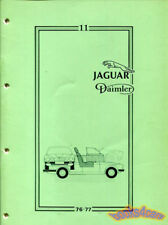 JAGUAR XJ6 XJ SERIES III SHOP MANUAL BODY SERVICE REPAIR BOOK 79-87 VANDEN PLAS