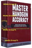 Master Handgun Accuracy Training DVD Set Concealed Carry In Stock Ships Same Day