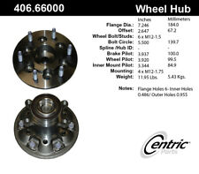 Wheel Bearing and Hub Assembly fits 2009-2012 GMC Canyon  C-TEK BY CENTRIC