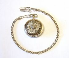 Green Man Pocket Watch Gift Boxed With FREE ENGRAVING Mythical Gift