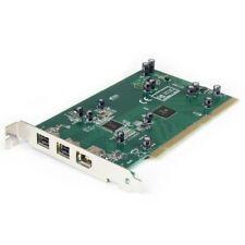 StarTech PCI1394B_3 3 Port 2b 1a PCI 1394b FireWire Adapter w/ DV Editing Kit