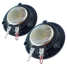 Pair Klipsch Horn Tweeter Replacement Driver 8 Ohms Neo Magnet Soft Dome